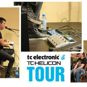 Marc Quintillá TC Electronic & TC Helicon Tour Barcelona