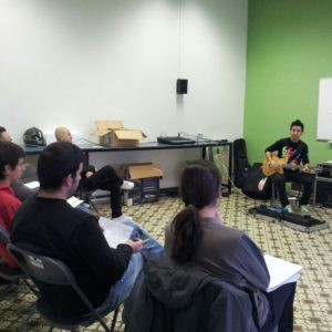 Marc Quintillá Masterclass Technology for guitarists